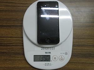 iPhone4と5の比較