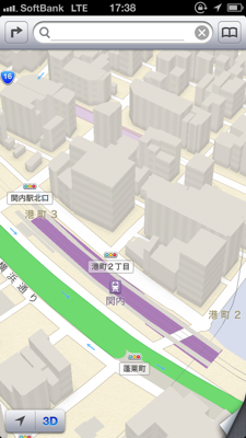 iPhoneマップ