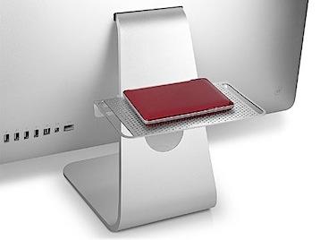 iMacのバックアップハードディスクの置き場所では