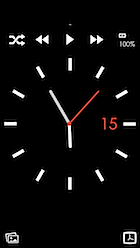 シンプル時計