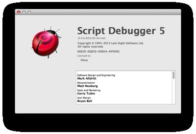 Script Debugger 1