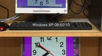 時計代わりにしている古いiMacと念のための動作確認で10.8.6のMac mini、あとWindowsXPと 3台並べて動作チェックをしていると、XPだけ時間がずれることに気がつきました。 同じサイトの時間を表示させて […]